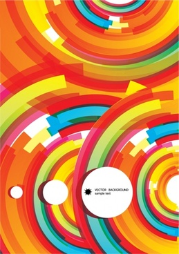 color flow lines background 03 vector
