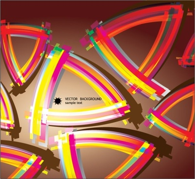 color flow lines background 05 vector