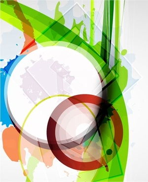 color ink background 07 vector