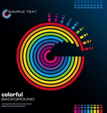 color line 03 vector