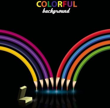 color pencil 02 vector
