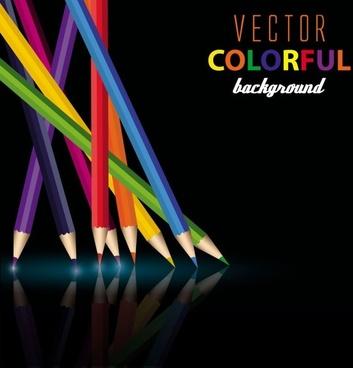color pencil 03 vector