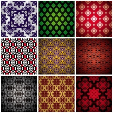 color shading pattern vector