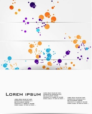 color splash background vector