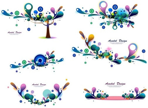 color texture patterns vector