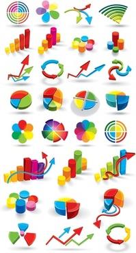 color threedimensional map vector data