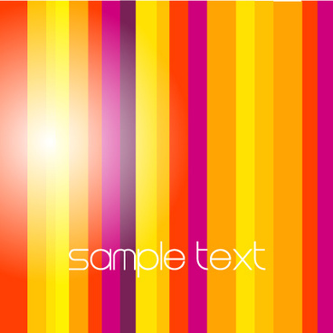 color vertical stripe background vector