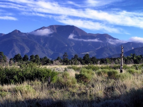 colorado mountains landscape