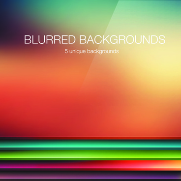 colored blurred vector background art