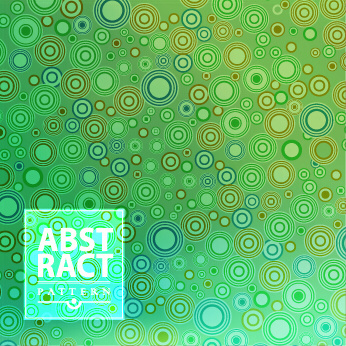 colored circle abstract patterns vector