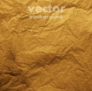 colored crumpled paper vector background