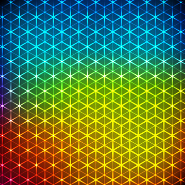 colored glow stars vector backgrounds