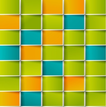colored grid vector background