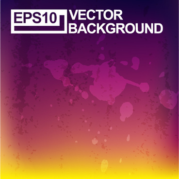 colored grunge art background vector