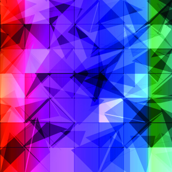 colored mosaic abstrac background vector