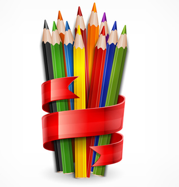 kids drawing color pencil free vector download 113 571 free vector