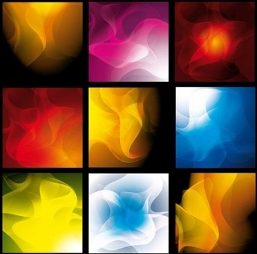 colored smoke background vectors