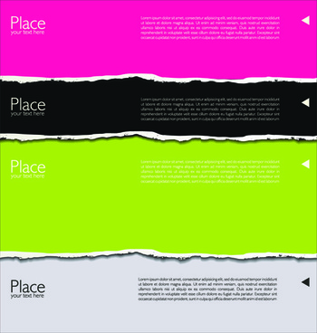 colored torn paper backgrounds
