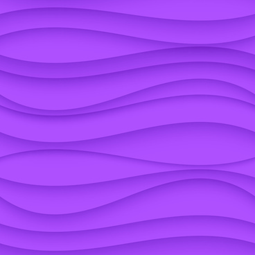 colored wavy seamless pattern vector