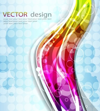 colorful abstract background 01 vector