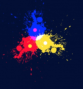 colorful abstract background grunge decoration style