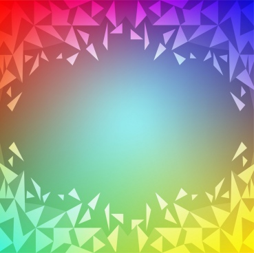 colorful abstract background poly style design