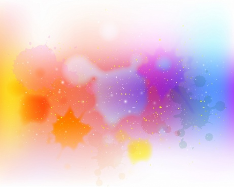 colorful abstract background watercolored splashing paint decoration