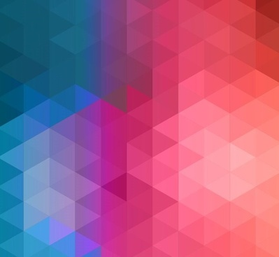 colorful abstract geometric background vector illustration