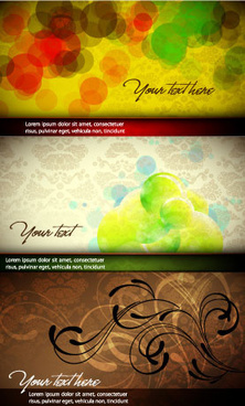 colorful and elegant background design vector