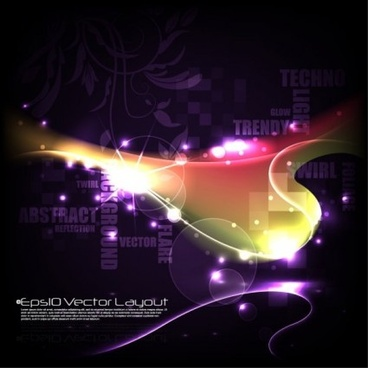 colorful art background vector