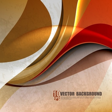 decorative abstract background template colorful classic dynamic curves