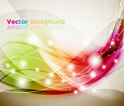 decorative background twinkling colorful dynamic lights decor