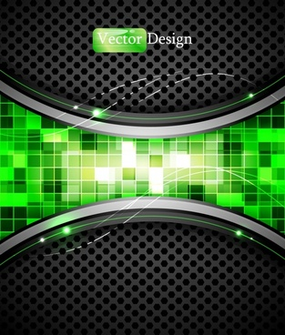 colorful background vector dynamic technology