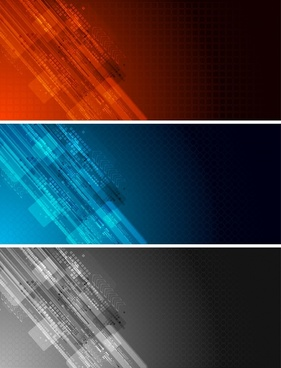 technology backgrounds dark modern colored abstract decor