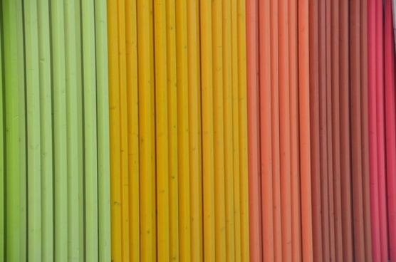 colorful boards wooden wall