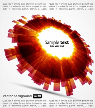colorful bright background vector