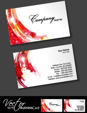 colorful card design 09 vector
