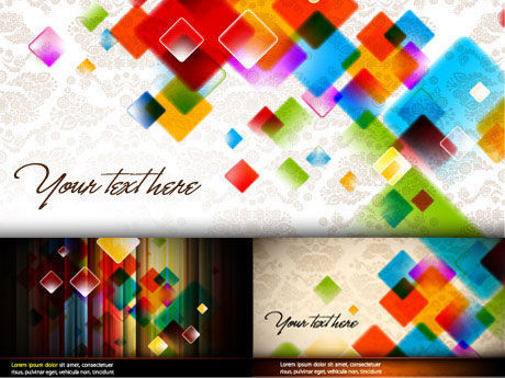 colorful color background vector