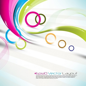 colorful colorful background vector