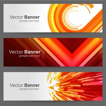 colorful colorful strip card fads notes vector