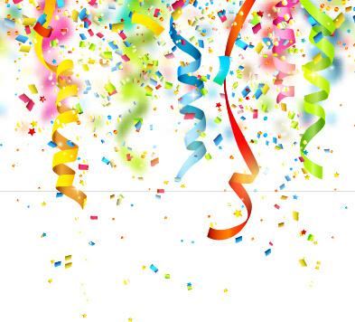 Background clipart confetti free vector download (49,589 ...