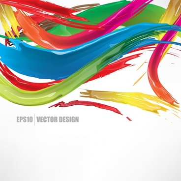 colorful decorative abstract pattern vector