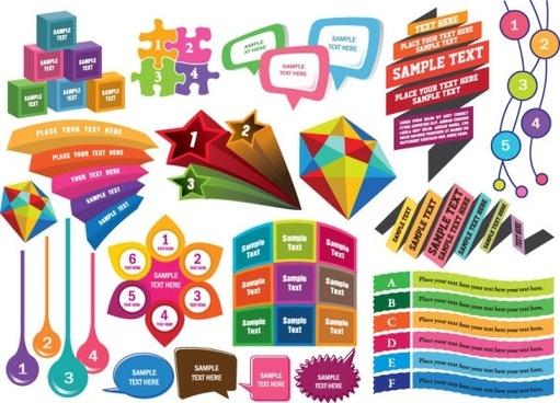 colorful decorative graphics vector 3