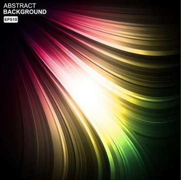 colorful eyecatching dynamic background vector