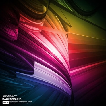 decorative background colorful dynamic abstract design