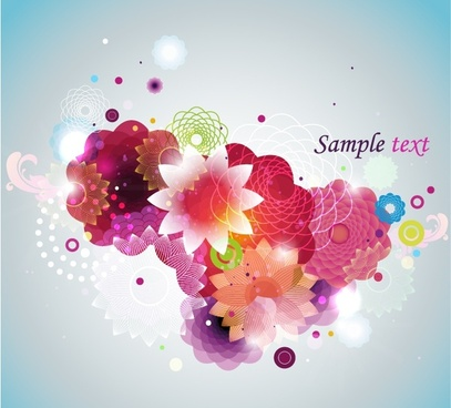 flowers background colorful blooming petals decor