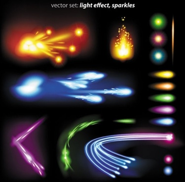 colorful flow line 01 vector