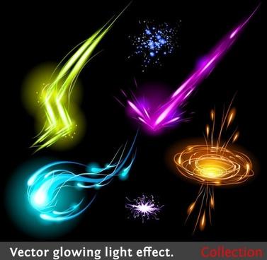 colorful flow line 02 vector