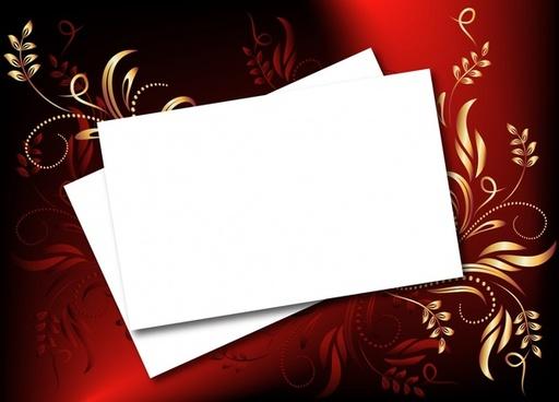 decorative background paper icon elegant classical curves