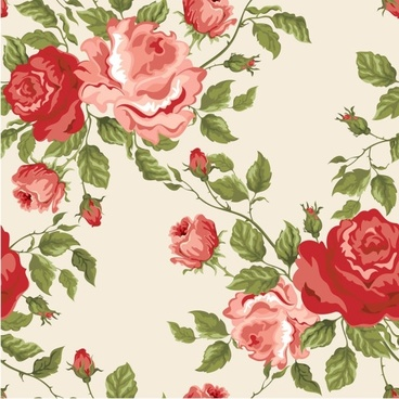 colorful flowers background 03 vector